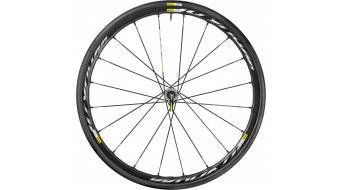 Mavic Ksyrium Pro disc road bike wheel-/tire system front wheel 6-hole wire bead tire black 2016