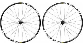 Mavic Aksium disc Clincher road bike wheel set 6-hole M11 Shimano/SRAM- freewheel black 2017