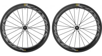 Mavic Cosmic Pro carbon disc Clincher WTS road bike wheel set 25mm 6-hole M11 Shimano/SRAM- freewheel black 2017