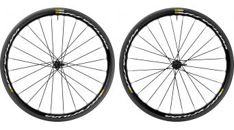 Mavic Ksyrium disc Clincher WTS road bike wheel set 25mm 6-hole M11 Shimano/SRAM- freewheel black 2017