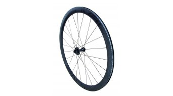 Specialized Roval Rapide CL 40 Disc Rennrad Laufrad Clincher Vorderrad satin carbon/gloss black