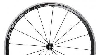 Shimano Dura Ace WH-9000-C35-CL carbono bici carretera juego de ruedas Clincher 10/11-velocidades negro(-a)