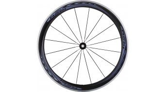 Shimano WH-RS81-C50 Carbon bici da corsa set ruote ant+post Clincher 10/11 vel. nero