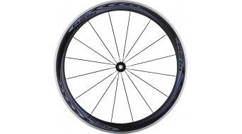 Shimano WH-RS81-C50 carbono bici carretera juego de ruedas Clincher 10/11-velocidades negro(-a)