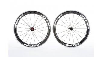 Zipp 60 Clincher Laufrad 700c HR schwarz/weiße-Aufkleber (SRAM/Shimano-Freilauf)