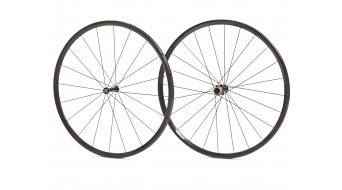 AX Lightness Ultra Road 24 Tubular wheel set 20/24h black/3K-carbon freewheel