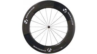 Bontrager Aeolus 9 D3 rueda completa para bici carretera rueda delantera cubierta tubular negro/blanco