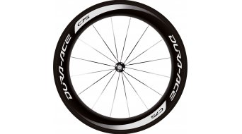 Shimano Dura Ace WH-9000-C75-TU Carbon bici da corsa set ruote ant+post Tubular 10/11 vel. nero