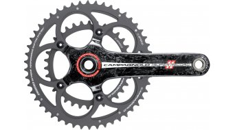 Campagnolo Super Record 2011 titanium CT crank set 11 speed 50/34T