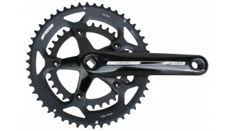 FSA Vero compact crank kit 170mm 50/34- teeth JIS four kant black/black (without bottom bracket )