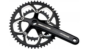 FSA Vero compact crank kit 175mm 50/34- teeth JIS four kant black (without bottom bracket )