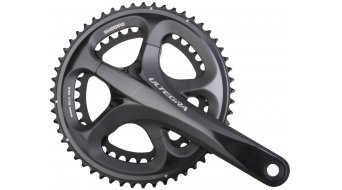 Shimano Ultegra crank set silver 53/39 tooth incl. BSA- bearing cap FC-6700 to Verwendung with chain CN-6700 (BULK pack)
