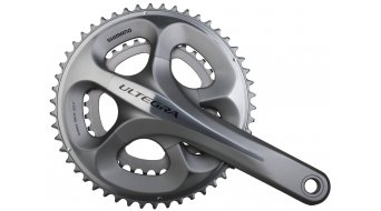 Shimano Ultegra compact crank set silver 50/34 tooth incl. BSA- bearing cap FC-6750 to Verwendung with chain CN-6700 (BULK pack)