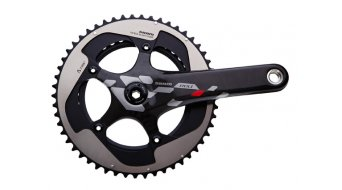 SRAM Red Exogram GXP crank set (without GXP bottom bracket ) black/silver/red