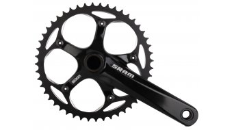 SRAM S300 Courier crank set 48 tooth black shining (incl. GXP bottom bracket ) 2013
