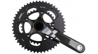 SRAM Red BB30 crank set Black rings black without BB30 bottom bracket 2013