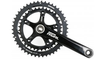 SRAM Rival OCT Cross crank set 46-36tooth black shining incl. GXP bottom bracket 2014