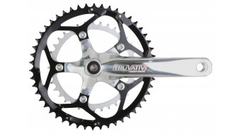 Truvativ Touro 2.0 compact Road crank kit 50-36T, silver polished PowerSpline