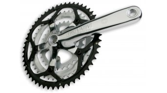 Truvativ Touro 3.0 triple Road crank kit 52-42-30T, silver polished PowerSpline