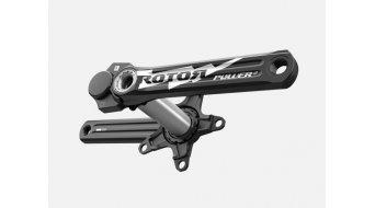 ROTOR 3D+ Power LT Rennrad Leistungsmess-Kurbel 30mm-Welle (110 BCD) schwarz/silber