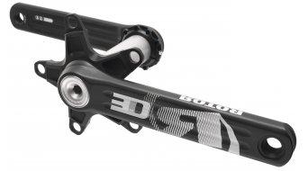 ROTOR 3D30 Rennrad Kurbel 30mm-Welle (110 BCD) schwarz/silber