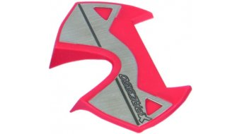 Time X-Presso acciaio inox pedal-piattaforma intercambiabile red