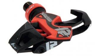 Time X-Presso 12 Titan Carbon Rennrad-Pedale schwarz/rot