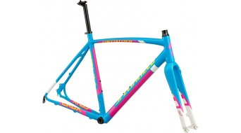 Specialized Crux E5 Cyclocrosser Rahmenkit Gr. 56cm gloss cyan/magenta/white/yellow Mod. 2015
