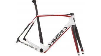 Specialized S-Works Tarmac Rennrad Rahmenkit Gr. 49cm white/carbon/black/red Mod. 2015