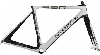 Storck Aernario Disc G1 bici da corsa kit telaio mis 57cm opaco white/opaco black Mod. 2015
