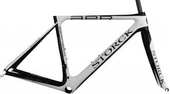 Storck Aernario G1 vélo de course jeu de cadre taille 63cm matt white/matt black Mod. 2015