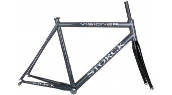 Storck Visioner G1 bici carretera kit de cuadro (Stiletto 300 horquilla) tamaño 57cm negro-chrome Mod. 2015- modelos de demonstración