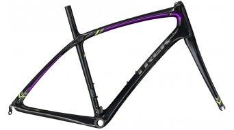 Trek Silque SSL bici carretera kit de cuadro Señoras-kit de cuadro negro pearl/purple lotus Mod. 2016