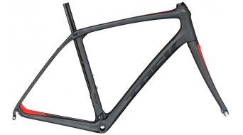 Trek Domane SLR Disc bici carretera kit de cuadro matte dnister negro/viper rojo Mod. 2017