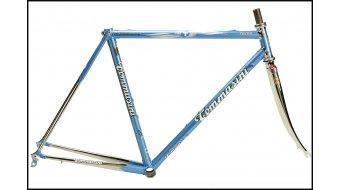 Tommasini Tecno acier vélo de course jeu de cadre incl. Air filetage- fourche (Classic-Geometrie)