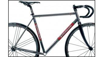 Tommasini X-Fire acier vélo de course jeu de cadre incl. FKT56 fourche (Sloping-Geometrie)