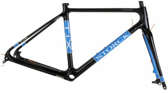 Storck T.I.X. G1 Cyclocross kit telaio retro blue/black Mod. 2015