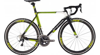 Bergamont Prime RS 700C road bike bike mens version black/green/white matt 2015