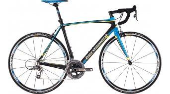 Bergamont Prime Team 700C Rennrad Komplettbike Herren-Rad carbon/cyan/neon yellow/white matt Mod. 2015