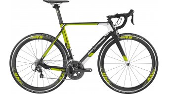 Bergamont Prime RS road bike bike mens version black/lime/white 2016