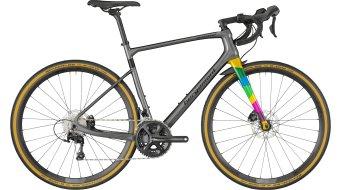 "Bergamont Grandurance Elite Carbon 28"" 公路赛车 整车 型号 dark silver/black (shiny) 款型 2018"