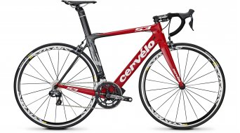 Cervélo S3 Ultegra Di2 Rennrad rot/schwarz/weiß Mod. 2014