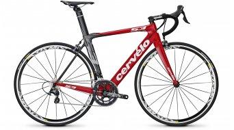 Cervélo S3 Ultegra Rennrad rot/schwarz/weiß Mod. 2014