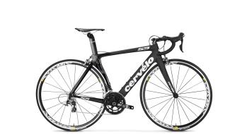 Cervélo S5 Dura Ace Di2 2x11 bici da corsa bici completa . black/white mod. 2016