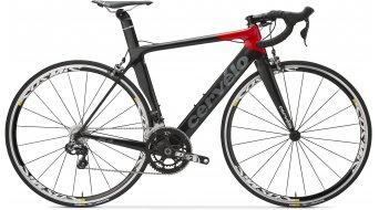 Cervélo S3 Ultegra Di2 2x11 bici da corsa bici completa . black/red mod. 2016