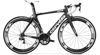 Cervélo S5 Ultegra 2x11 Rennrad Komplettbike Gr. 56cm black/white Mod. 2016 - TESTBIKE