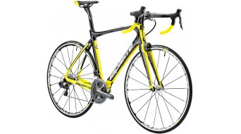 Lapierre Aircode 700 CP 28 road bike bike carbon/yellow/white matt 2015