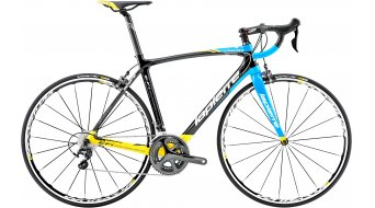 Lapierre Xelius EFI 400 CP 28 road bike bike carbon/yellow/cyan blue glossy 2015