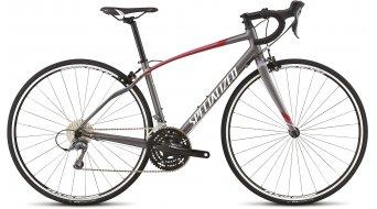 Specialized Dolce X3 Rennrad Komplettbike Damen-Rad charcoal/red/pink/silver/met white Mod. 2015