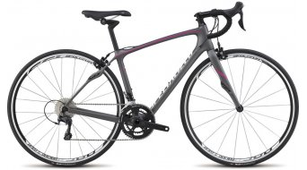 Specialized Ruby Comp Rennrad Komplettbike Damen-Rad Gr. 44cm satin charcoal/pink/white Mod. 2015